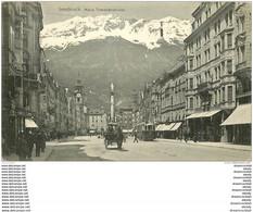 AUTRICHE OSTERREICH. Innsbruck. Maria Thereisienstrasse - Innsbruck