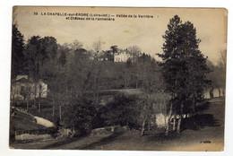 Cpa N° 35 LA CHAPELLE SUR ERDRE Vallée De La Verrière Et Château De La Pannetère - Unclassified