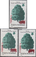 Romania 5546-5548 (complete Issue) Unmounted Mint / Never Hinged 2000 Clear Brands: Trees - Nuovi