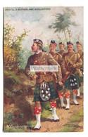 Argyll & Sutherland Highlanders, A Reconnoitring Patrol - Tuck Postcard No. 9937 From 1915, Harry Payne Artwork - Regimenten