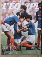 Revue L'Equipe Magazine N°1667 (28 Juin 2014) Numéro 100% EURO 84 - Sport