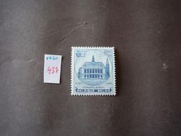 Timbres Belgique N° 437 ** - Altri