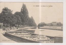 CPA-71-Saône Et Loire- CHAGNY- Le Canal Et La Tranchée- - Chagny