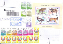 2021. Belarus, The Letter Sent By Registered Prioritaire Post To Moldova - Belarus