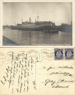 Norway Norge, FREDRIKSTAD, Workshop And Floating Dock (1925) RPPC Postcard - Norvège