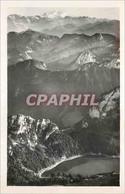 CPM Les Monts Du Chablais Le Lac De Tanay Et Vue Sur Le Mont Blanc - Altri Comuni