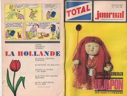 TOTAL JOURNAL N° 2 JUIN 1966 JUNIORAMA LE JAPON LA TOUR EIFFEL - Zonder Classificatie