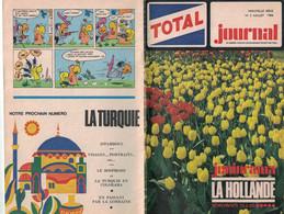 TOTAL JOURNAL N° 3 JUILLET 1966 JUNIORAMA  LA HOLLANDE - Zonder Classificatie