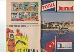 TOTAL JOURNAL N° 4 AOUT 1966 JUNIORAMA  LA TURQUIE - Zonder Classificatie