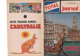 TOTAL JOURNAL N° 6 NOVEMBRE-DECEMBRE 1966 JUNIORAMA  L'ITALIE - Zonder Classificatie