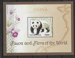 Tansania 1998 Panda  Mi.-Nr. Block 403 **/MNH - Ours