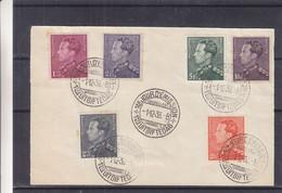Belgique - Document De 1936 - Oblit 1er Jour Bruxelles - Poortman - - Brieven En Documenten