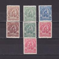 EL SALVADOR 1899, Sc #199-207, Part Set, MH/MNH - Salvador