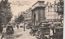 Cartolina - Postcard /  Viaggiata - Sent /  Parigi - Le Boulevard - Squares