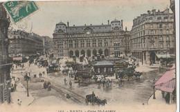 Cartolina - Postcard /  Viaggiata - Sent /  Parigi - Gare St. Lazare. - Stations, Underground