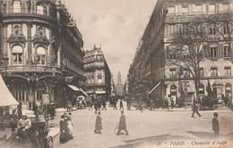 Cartolina - Postcard / Non Viaggiata - Unsent /  Parigi - Chausèe D'Autin - Squares