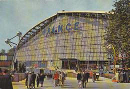 Bruxelles (Belgique) - Exposition Universelle - Le Pavillon De La France - Weltausstellungen