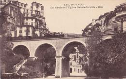 Monaco (Monaco) - Le Ravin Et L'eglise Sainte Dévote - Ohne Zuordnung