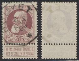 """Grosse Barbe - N°77 Obl Télégraphique """"Houyet"""" - 1905 Grove Baard"""