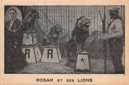 Spectacle (Cirque) - Rosar Et Ses Lions - Circus