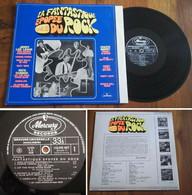 """RARE French LP 33t RPM BIEM (12"""") LA FANTASTIQUE EPOPEE DU ROCK Vol.2 (1968) - Rock"""