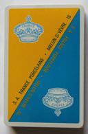 Ancien Jeu 32 Cartes Publicitaire Neuf S. A. France Porcelaine Melun S Vèvre Mehun-sur-Yèvre - 32 Cards