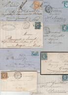 PARIS - Lot De 20 Lettres Période Classique - 1849-1876: Classic Period