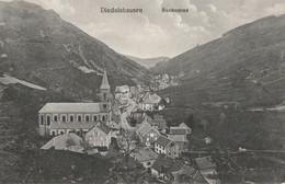 CARTE POSTALE ORIGINALE ANCIENNE : DIEDOLSHAUSEN LE BONHOMME PENDANT L'OCCUPATION ALLEMANDE EN 1915 HAUT RHIN (68) - Autres Communes