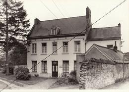 Grande Photo Ancienne De Linkebeek Patrimoine Du Brabant Maison Cure Presbytère Ferme église - Places