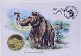 Bioko Island $ 5 2020 UNC Extinct Animals Mammoth - Aequatorial-Guinea