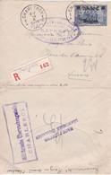 Belgique - COB OC 9 Sur Lettre Recommandée De Charleroy (Charleroi) à Anvers (Antwerpen) - 14/10/1915 - Voir Desc. - [OC1/25] Gen.reg.