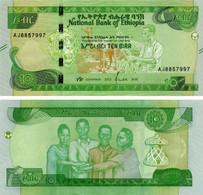 Ethiopia 10 Birr 2020 UNC (Pnew) - Aethiopien