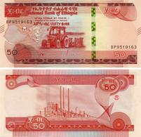 Ethiopia 50 Birr 2020 UNC Tractor (Pnew) - Aethiopien