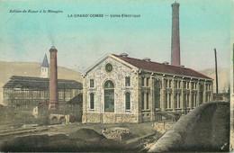 GARD  LA GRAND-COMBE  Usine Electrique - La Grand-Combe