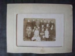 LATAULE (Oise) - Photgraphie Ecole Classe 1921 Mme Robillard - Lieux