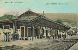 GARD  LA GRAND-COMBE  Gare Des Voyageurs - La Grand-Combe