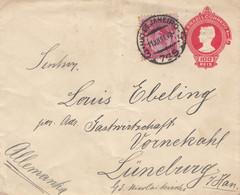 Brazil: 1911: Rio De Janeiro To Lüneburg - Unclassified