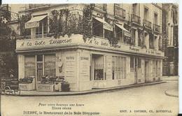 DIEPPE - Le Restaurant De La Sole Dieppoise - Dieppe