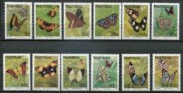 Namibia Mi# 751-63A + 771 Postfrisch/MNH - Fauna Butterflies - Namibië (1990- ...)