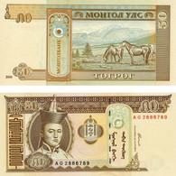 Mongolia 50 Tugriks 2000 UNC (P64a) - Mongolei
