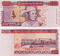 Myanmar (Burma) 500 Kyat 2020 UNC - Myanmar