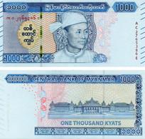 Myanmar (Burma) 1000 Kyat 2020 UNC (Pnew) - Myanmar