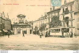 HR 54 NANCY. Porte Saint-Nicolas Avec Tramway 1904 - Nancy