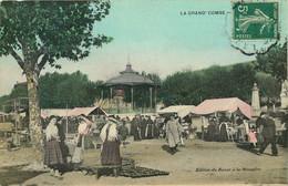 GARD  LA GRAND-COMBE  Un Jour De Marché - La Grand-Combe