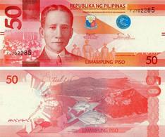 Philippines 50 Pesos 2020 UNC Fish - Caranx (P224) - Philippinen