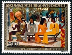 POLYNESIE 1973 - Yv. PA 75 **   Cote= 32,00 EUR - Ta Matete', Tableau De Gauguin  ..Réf.POL25453 - Unused Stamps