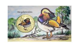 San Felix Island 1 Dollar 2021 UNC Chile Bird - Mandarin Duck - Sonstige Münzen