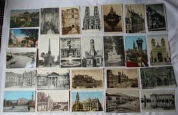 134657/ Konvolut 1000 Ansichtskarten überwiegend Frankreich Und Belgien Stadtansichten Bis 1945 - 500 Postcards Min.