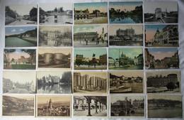 135185/ Konvolut 1000 Ansichtskarten überwiegend Frankreich Und Belgien Stadtansichten Bis 1945 - 500 Postcards Min.