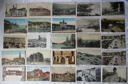 138863/ Konvolut 1000 Ansichtskarten überwiegend Frankreich Und Belgien Stadtansichten Bis 1945 - 500 Postcards Min.